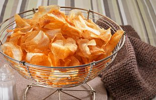 Homemade Salt & Sarson's Vinegar Crisps