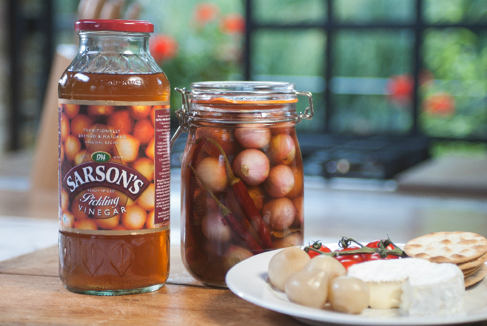 How To Pickle Shallots Pickled Shallots Recipe Sarson 39 S