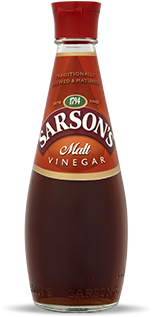 Bottle of Sarson's Malt Vinegar