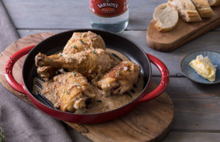 Chicken with Vinegar Sauce