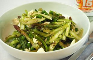 Quick-Pickled Asparagus Salad
