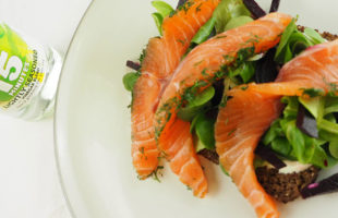 Quick-pickled Salmon Gravadlax & Horseradish Cream