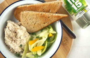 Quick-Pickled Fennel & Dill Salad with Smoked Trout Pâté